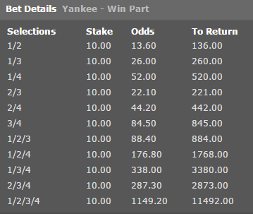 What is yankee in betting online sports betting legal us