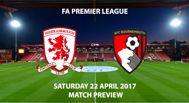 Bournemouth v Middlesbrough - Match Preview