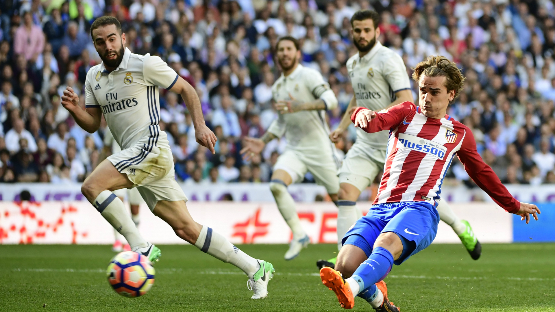 Atletico will hope Griezmann can fire them into a historic win