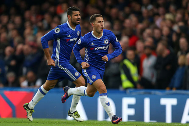 Hazard and Costa will be key to Chelsea's title charge