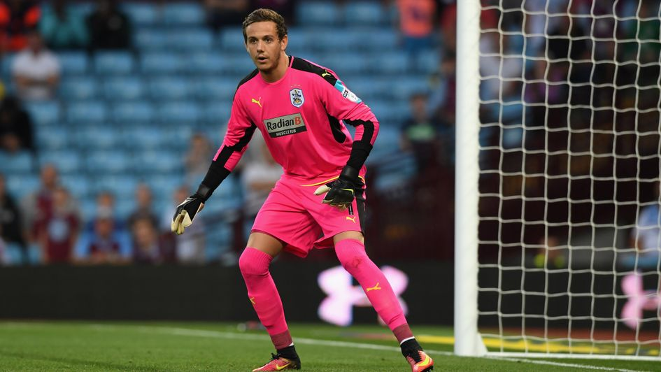 Huddersfield goalkeeper Danny Ward is suspended for the 1st leg