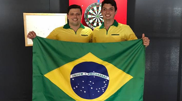 Alexandre Sattin & Diogo Portela will be representing Brazil at the 2017 PDC World Cup of Darts. Photo Credit: PDC.TV