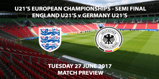 England U21's vs Germany U21's - Match Preview