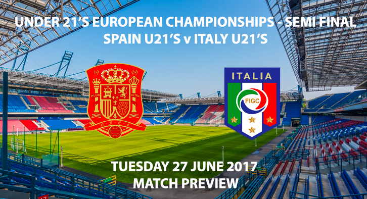 Spain U21's vs Italy U21's - Match Preview
