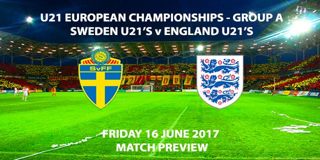 Sweden U21's vs England U21's - Match Preview