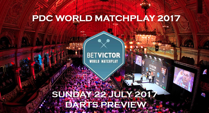 PDC World Matchplay 2017 - 1st Round - Darts Preview