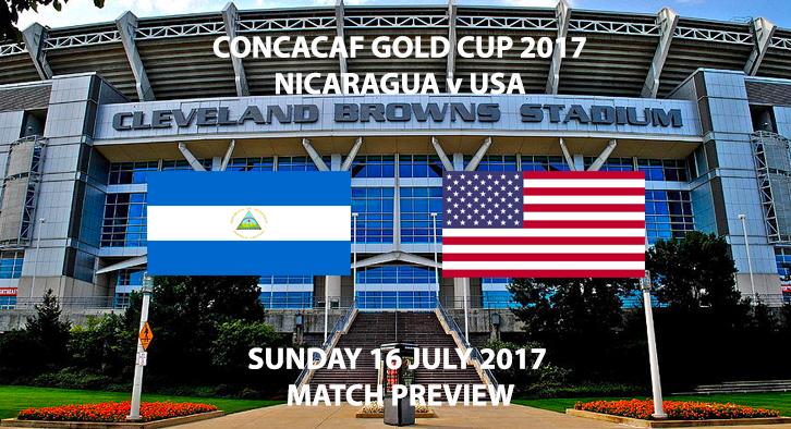 Nicaragua vs USA - Match Preview