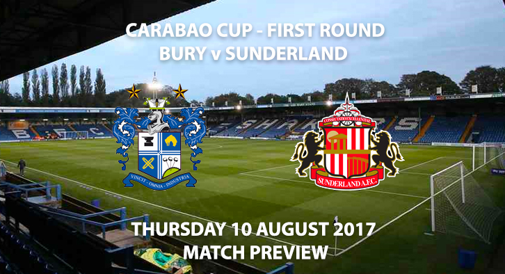 Bury vs Sunderland - Match Preview