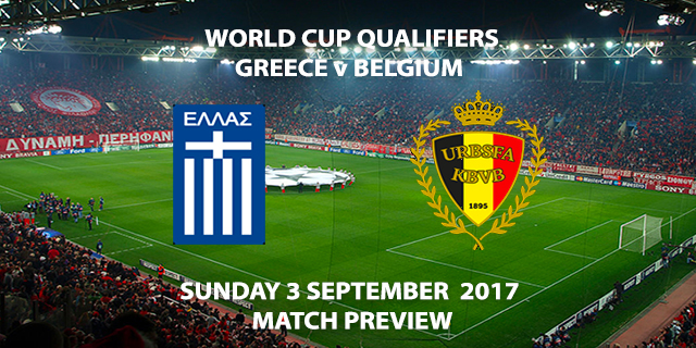 World Cup Qualifiers - Greece vs Belgium - Match Preview