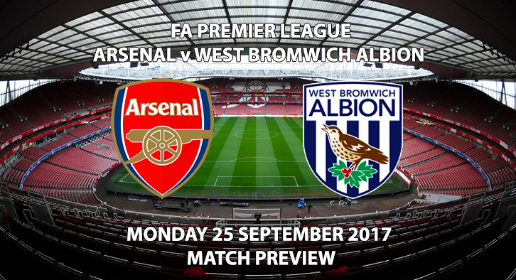 Arsenal vs West Bromwich Albion - Match Preview