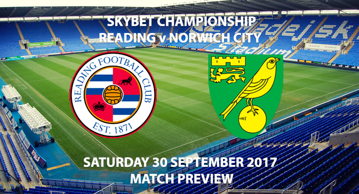 Reading vs Norwich City - Match Preview