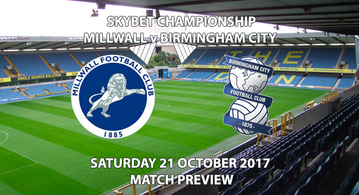 Millwall vs Birmingham City - Match Preview