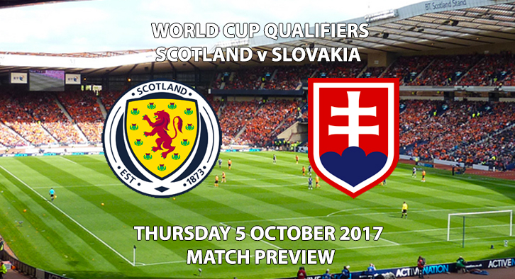 World Cup Qualifiers - Scotland vs Slovakia - Match Preview