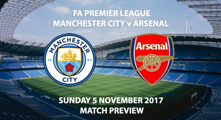Manchester City vs Arsenal - Match Preview