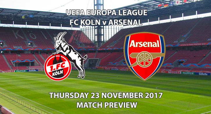 FC Koln vs Arsenal - Europa League Preview