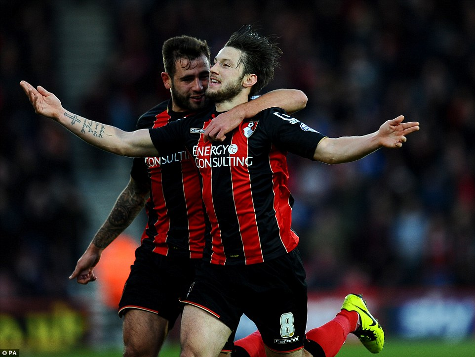 Steve Cook & Harry Artur have both been carded 4 times each this season for the Cherries.