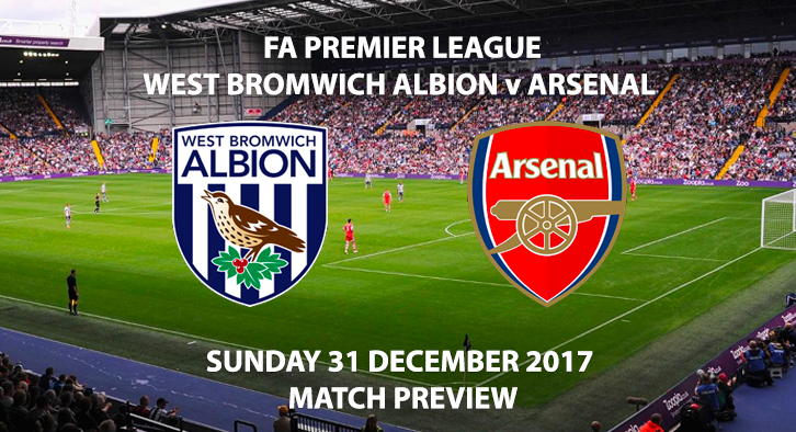 West Bromwich Albion vs Arsenal - Match Preview