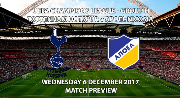 Tottenham Hotspur vs APOEL - Champions League Preview