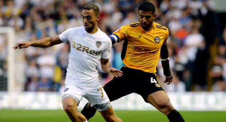 Kemar Roofe will be looking to back on the scoresheet for Leeds United on Tuesday night. Photo Credit: Yorkshire Evening Post