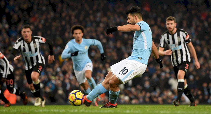 Aguero grabbed a hat-rick on the weekend to end any hope of a Newcastle comeback on the weekend.