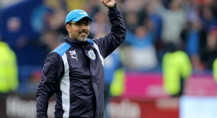 David Wagner is struggling of late to get his team to show the form that served them well at the start of the season. Photo Credit: Sky Sports
