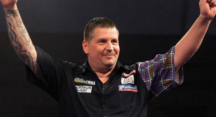 Gary Anderson will be looking to show signs of improvement this tournament after a mediocre 2017. Photo Credit: BBC America