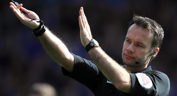 Paul Tierney takes charge of Friday nights live FA Cup fourth round game on BBC1.