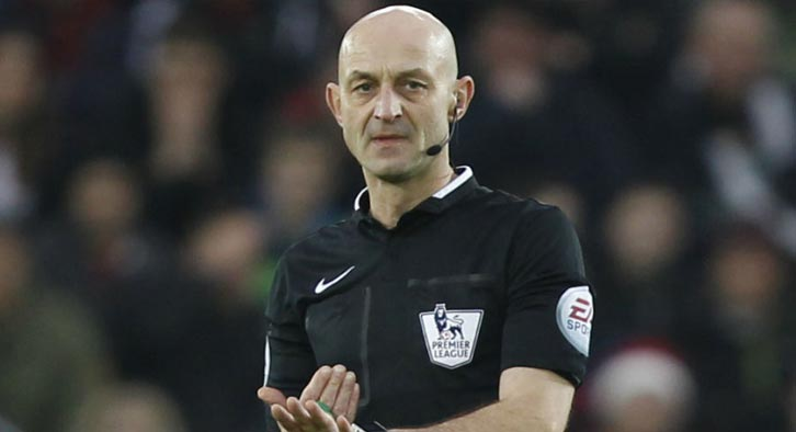 Roger East is the referee appointed to be in charge of Newport County vs Tottenham Hotspur