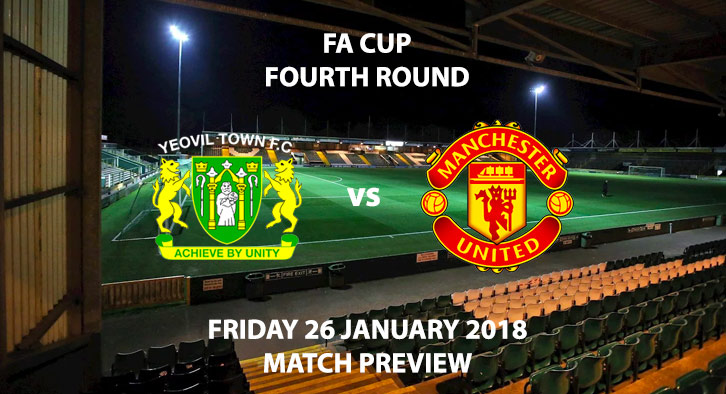 Yeovil Town vs Manchester United - FA Cup Fourth Round. Live on BBC 1.