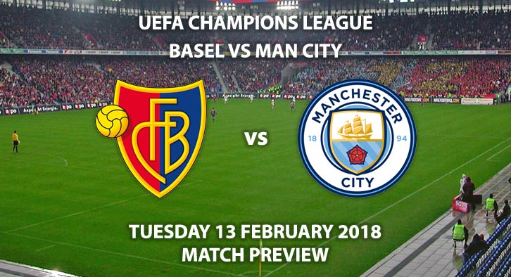 FC Basel vs Manchester City, Tuesday 13th February, St Jakob-Park, Champions League - 2nd Round - 1st Leg