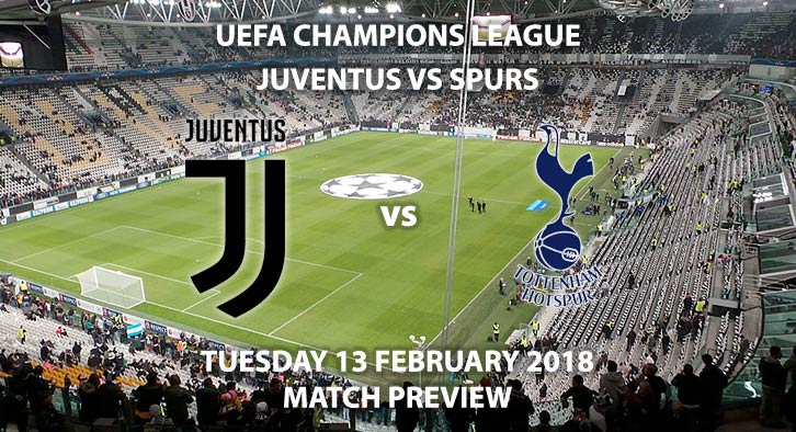 Juventus vs Tottenham Hotspur - UEFA Champions League - Tuesday 13 February 2018.