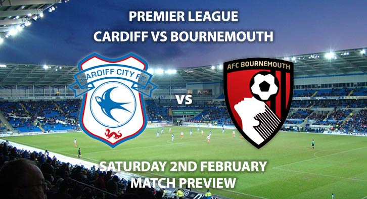 Match Betting Preview - Cardiff City vs Bournemouth. Saturday 2nd February 2019, FA Premier League, Cardiff City Stadium. Live on BT Sport 1 HD - Kick-Off: 17:30 GMT.
