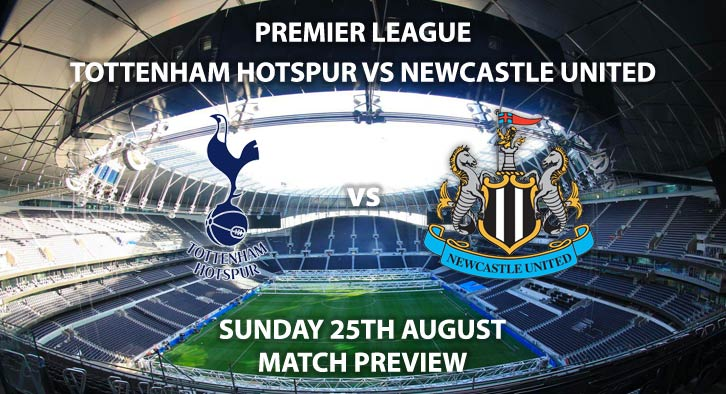 Tottenham Hotspur vs Newcastle United - Sunday 25th August 2019, FA Premier League, Tottenham Hotspur Stadium. Live on Sky Sports Premier League – Kick-Off: 16:30 BST.