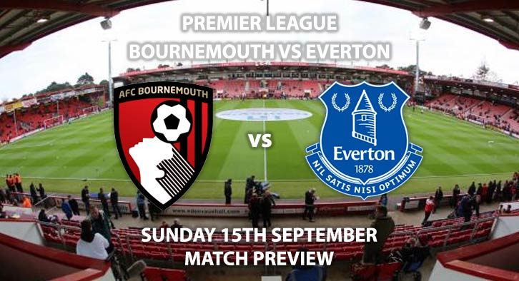 Bournemouth vs Everton - Sunday 15th September 2019, FA Premier League, Vitality Stadium. Live on Sky Sports Premier League – Kick-Off: 14:00 BST.