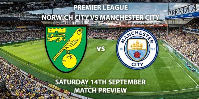 Norwich City vs Manchester City - Saturday 14th August 2019, FA Premier League, Carrow Road. Live on Sky Sports Premier League – Kick-Off: 17:30 BST.