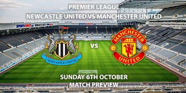 Newcastle United vs Manchester United - Sunday 6th September 2019, FA Premier League, St James' Park. Live on Sky Sports Premier League – Kick-Off: 16:30 BST.